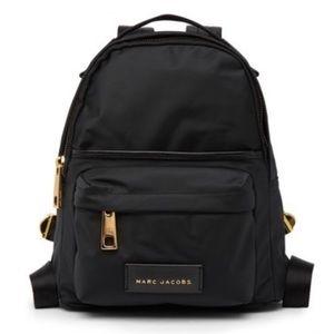 Marc Jacobs black nylon mini backpack